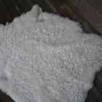 NZ0021 Skinn från Nya Zeeland  vintervit 1450:-